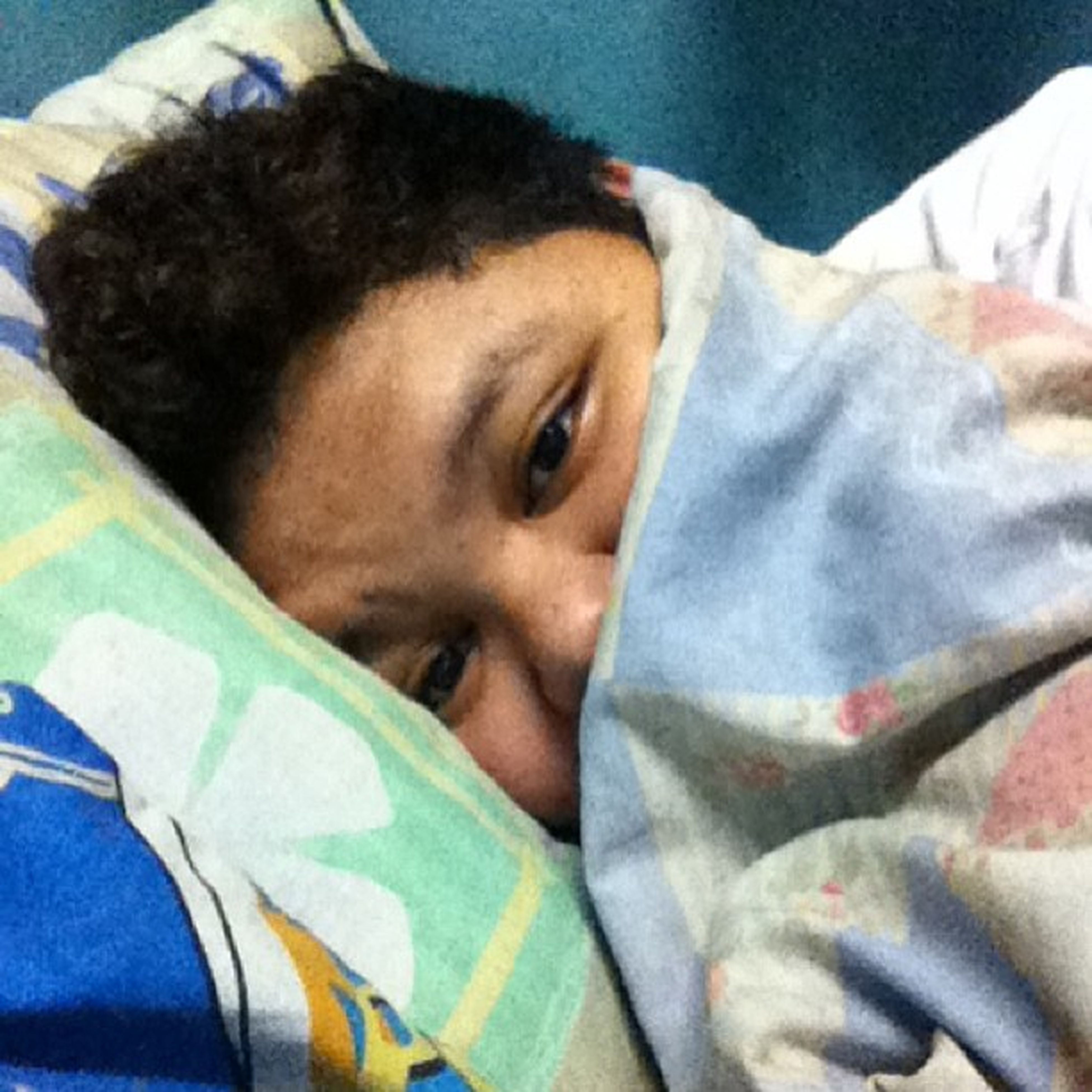Whole day in bed :( Sickban