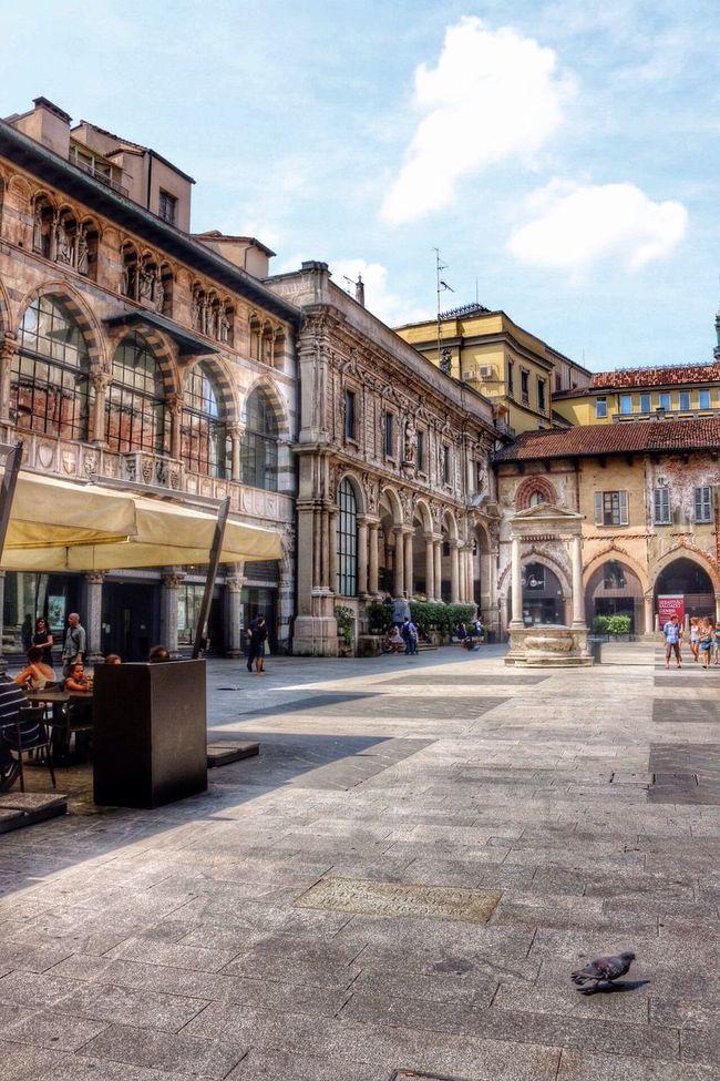 Architecture Milan Summer Life