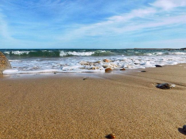 Sea And Sky New England  June 2016 Outdoor Photography Streamzoofamily Outside Photography Beautiful Nature Massachusetts Water_collection Seaside Seaside_collection Beach Photography Beach Ocean