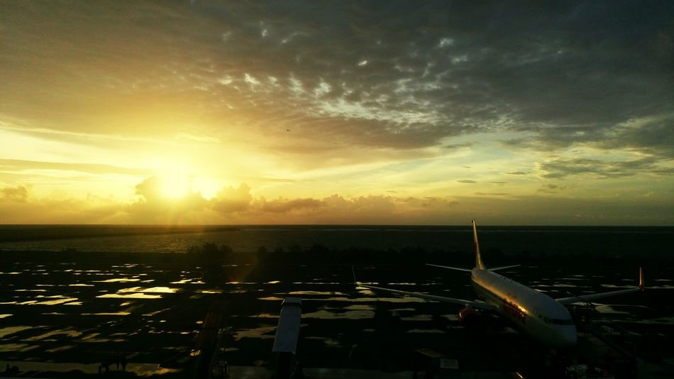 Taking Photos Check This Out Eye4photography  Bali, Indonesia Sunset Ngurah Rai International Airport