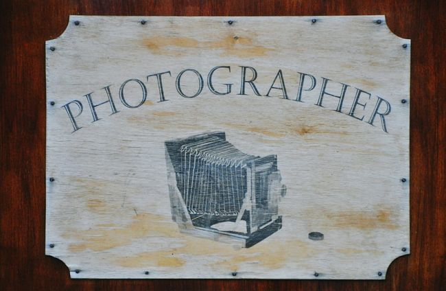 Photographer Signs Photo Sign Drawing Photography Advertising Advertisement Photography Sign Camera Drawing Photographer Advertisement Advertising Signs Street Sign Vintage Sign Store Advertisement Photograph Photo Sketch Photo Studio