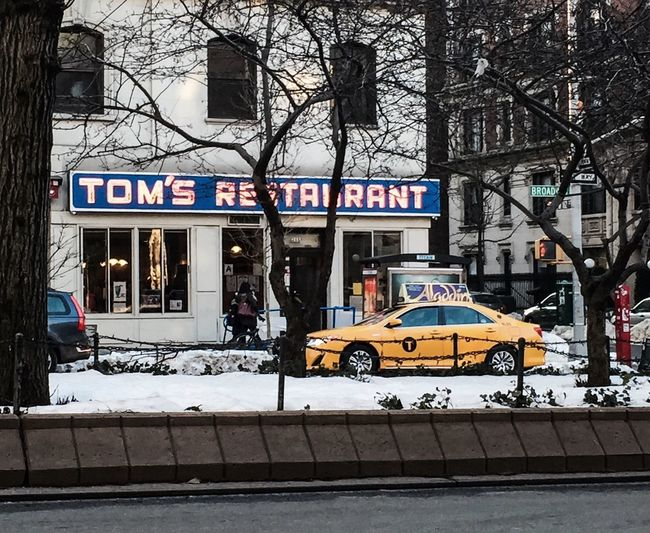 Happy Friday! Toms Restuarant Sienfeld UWS | Manhattan Winter 2016 NYC Timyoungiphoneography