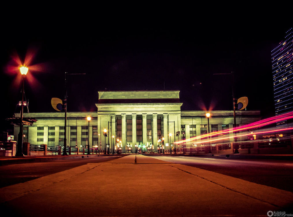 Nightphotography at Philadelphia Pa by Kasia