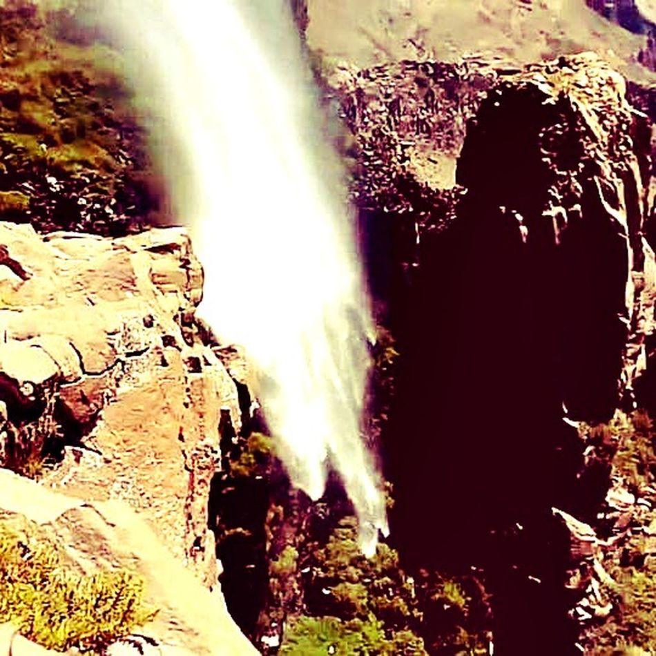 Beauty In Nature Cascada Chilena