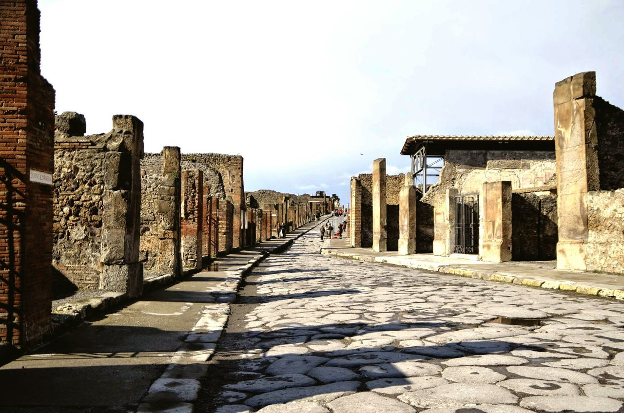 Beautiful stock photos of pompeii, Architecture, Built Structure, Clear Sky, Day