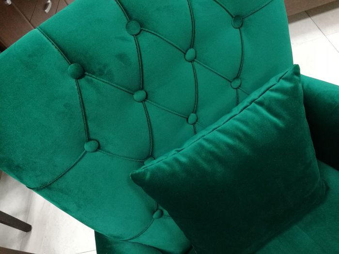 The 00 Mission Armchairs Green Color
