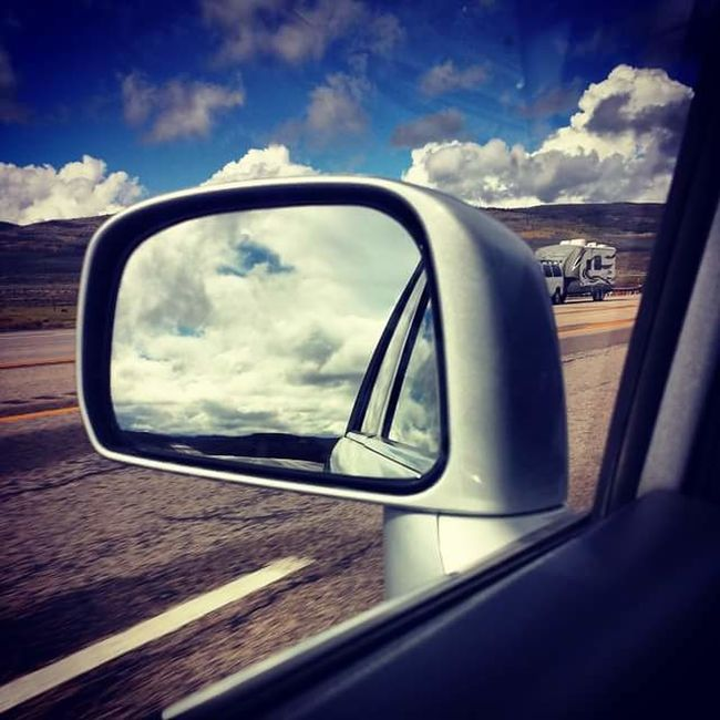 Taking Photos Cloud_collection  Sky And Clouds Drivingshots Review Mirror