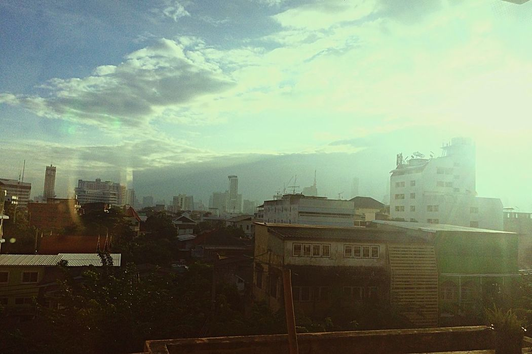 Typical Day City Sky Ancient Morning