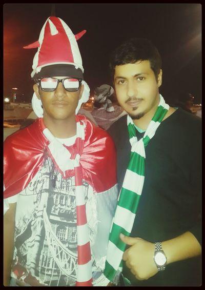 Back football Gulfcup22 Riyadh Hanging Out