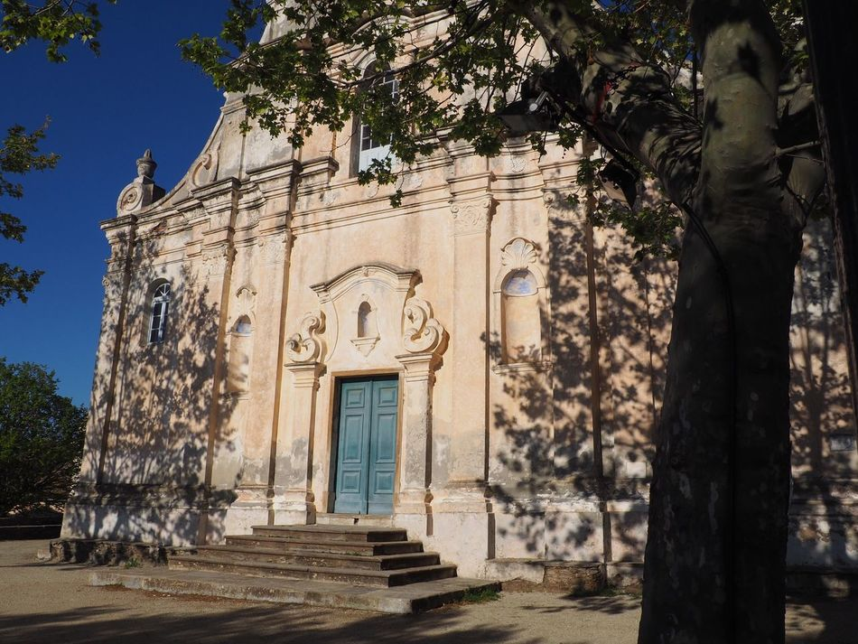 Eglise de Pino Architecture Built Structure Outdoors No People Tree Holiday Sunset Corse Cap Corse Corsica Spirituality Architecture