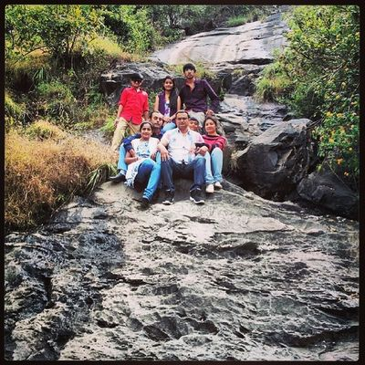 Tour Mb . Abu Side scene BIG stone Green grass Water fall early morning very cool weather Tour enjoyment instalike instabeauty instashare inatamood instaforward instacool instanice ...,,,
