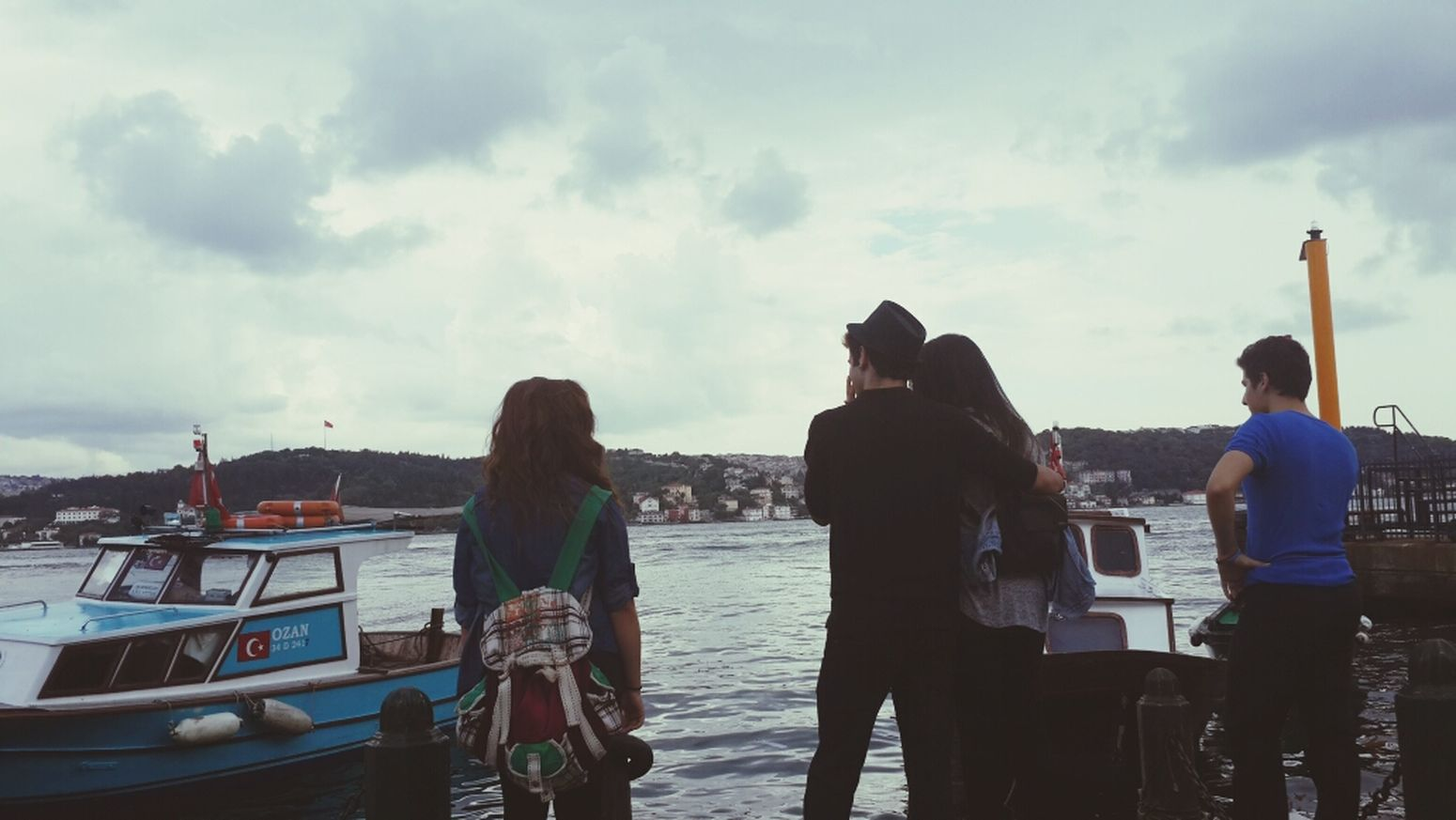 Ortaköy Wharf Sea View Hanging Out ✌