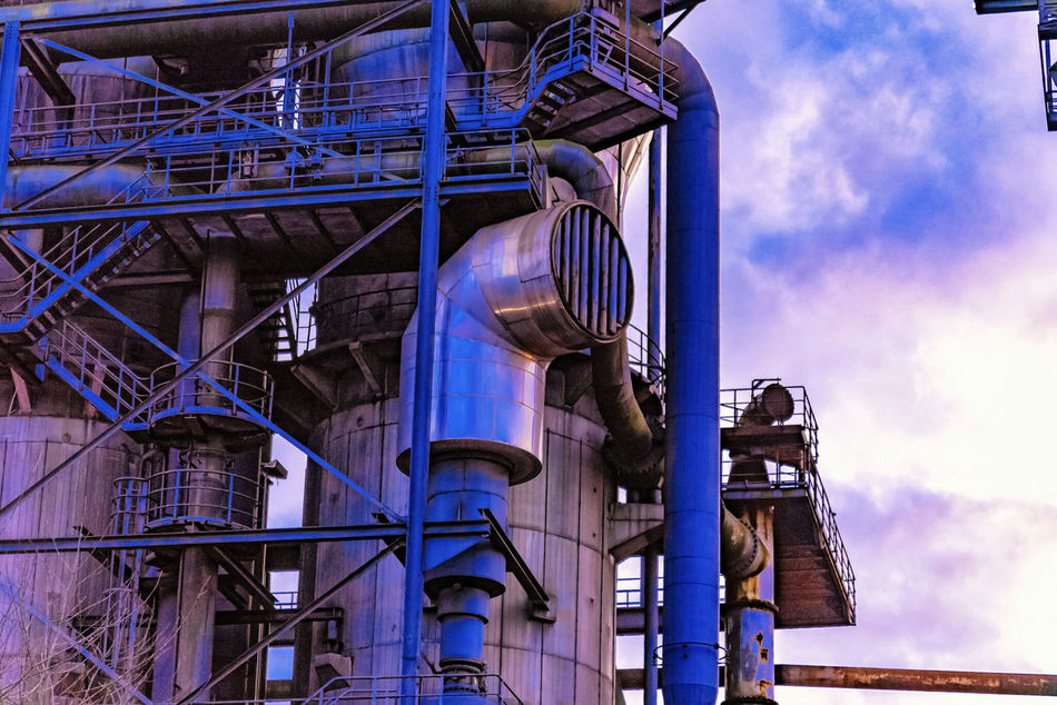 Architecture Industry No People Factory Architecture Steel Factory Longexposure Industry