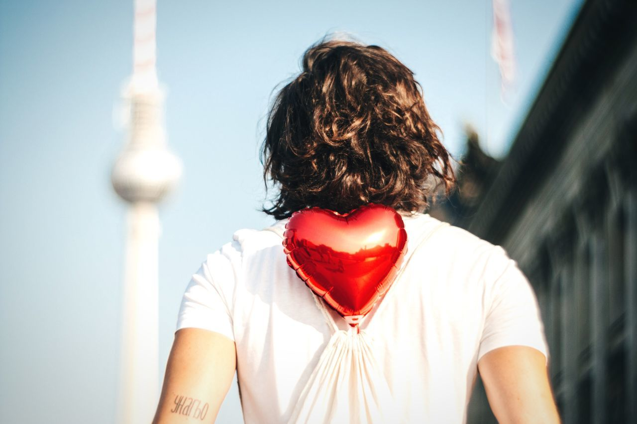 ❤️ Berlin Open Edit Brown Hair Red Young Adult Focus On Foreground From The Back Model Unrecognizable Person Berlin My Fuckin Berlin Berlin TV Tower Fernsehturm TV Tower Heart ❤ Heart Red Heart Young Man Young Men Man From Behind Love Love ♥ Berliner Berlin Photography Berlin Mitte