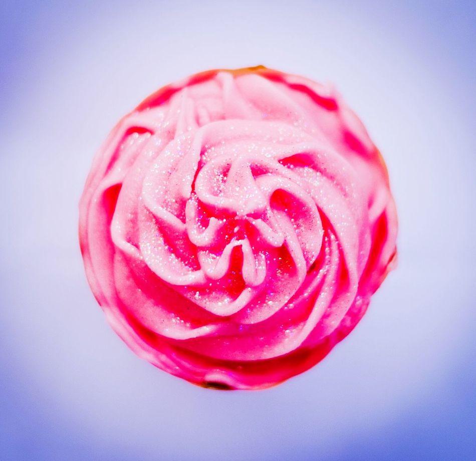 Cupcake Baking Cupcakes Pink Icing Treat Dessert Swirl