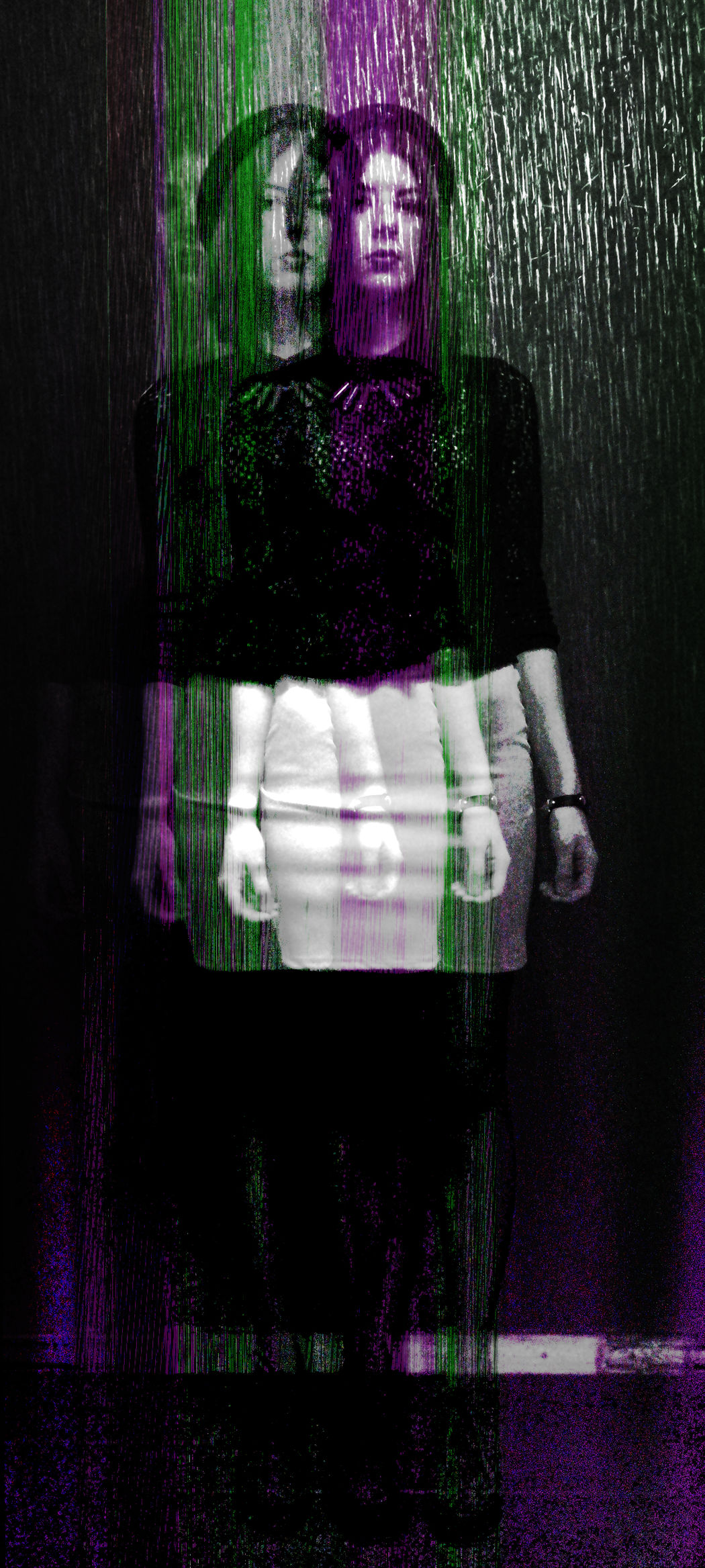 One more of my glitch pieces.. Glitch Experiment Colors Style Myterious Girl Photoshop Photomanipulation Noise Glitchart Glitchphotography