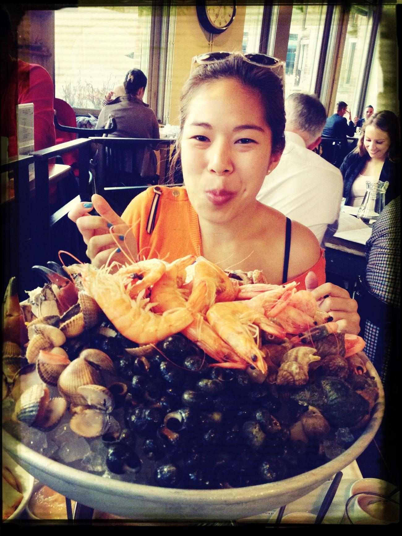 Fruit des mer platter... All by myself