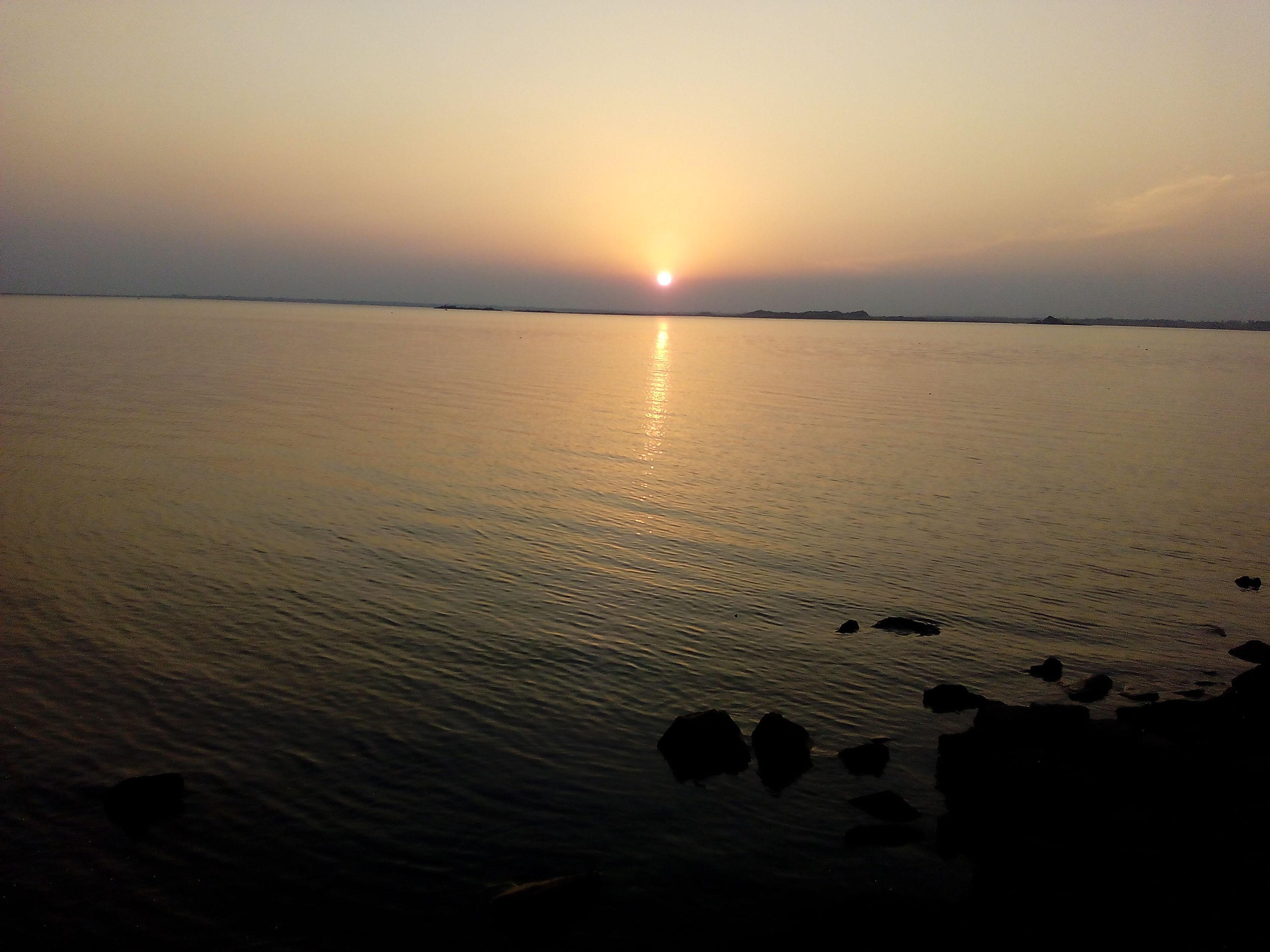Pastel Power Sunset @Thungabhadra Dam