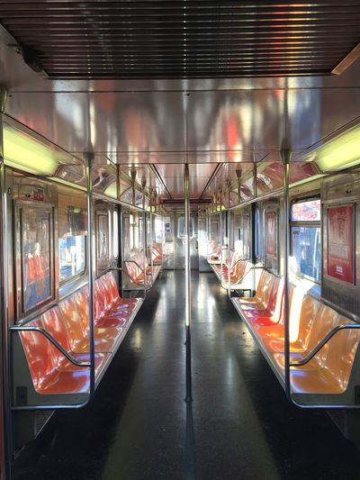 Emptiness Subway Empty Train Train Subway Train Transportation