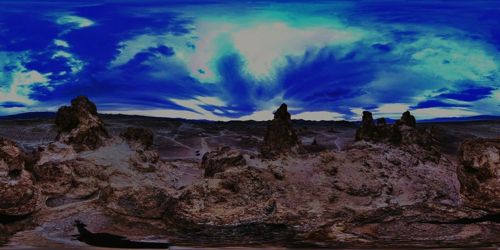 Ghosts of the Desert - @ Trona Pinnacles, Mojave, CA