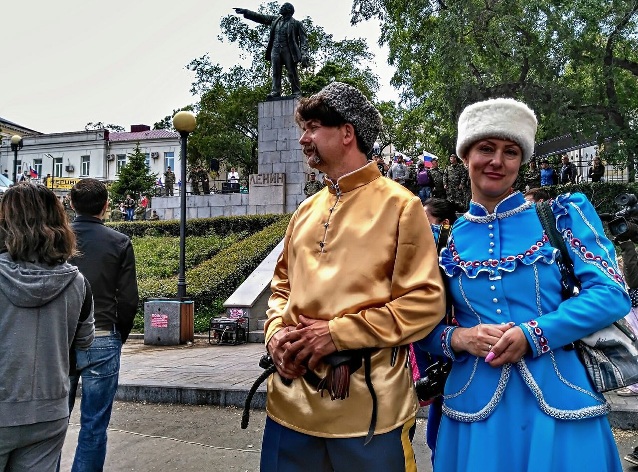 Ethnic Kazak Russian Russians 12June2017 Togetherness Adult Men Tree Women Adults Only Happiness Day People Mature Adult Outdoors Smiling Lifestyles Two People Real People Friendship Standing Bonding Young Adult Only Women EyeEmNewHere The Photojournalist - 2017 EyeEm Awards