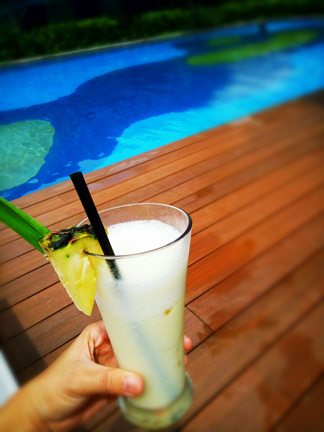 Drink 🏊 Pool Relaxing Place Drinking Glass Condrad Hotel