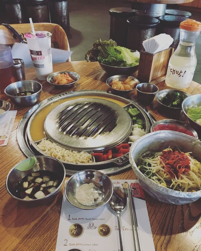 Korean BBQ yesss please Vgvg Koreanbbq Enough Said Food YumYum