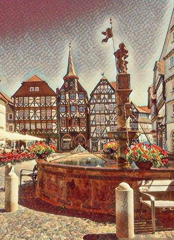 Frizlar - Germany Summer 2017 Make It Old Architecture Building Exterior Built Structure Foto Effect Fritzlar No People Outdoors Place Of Worship