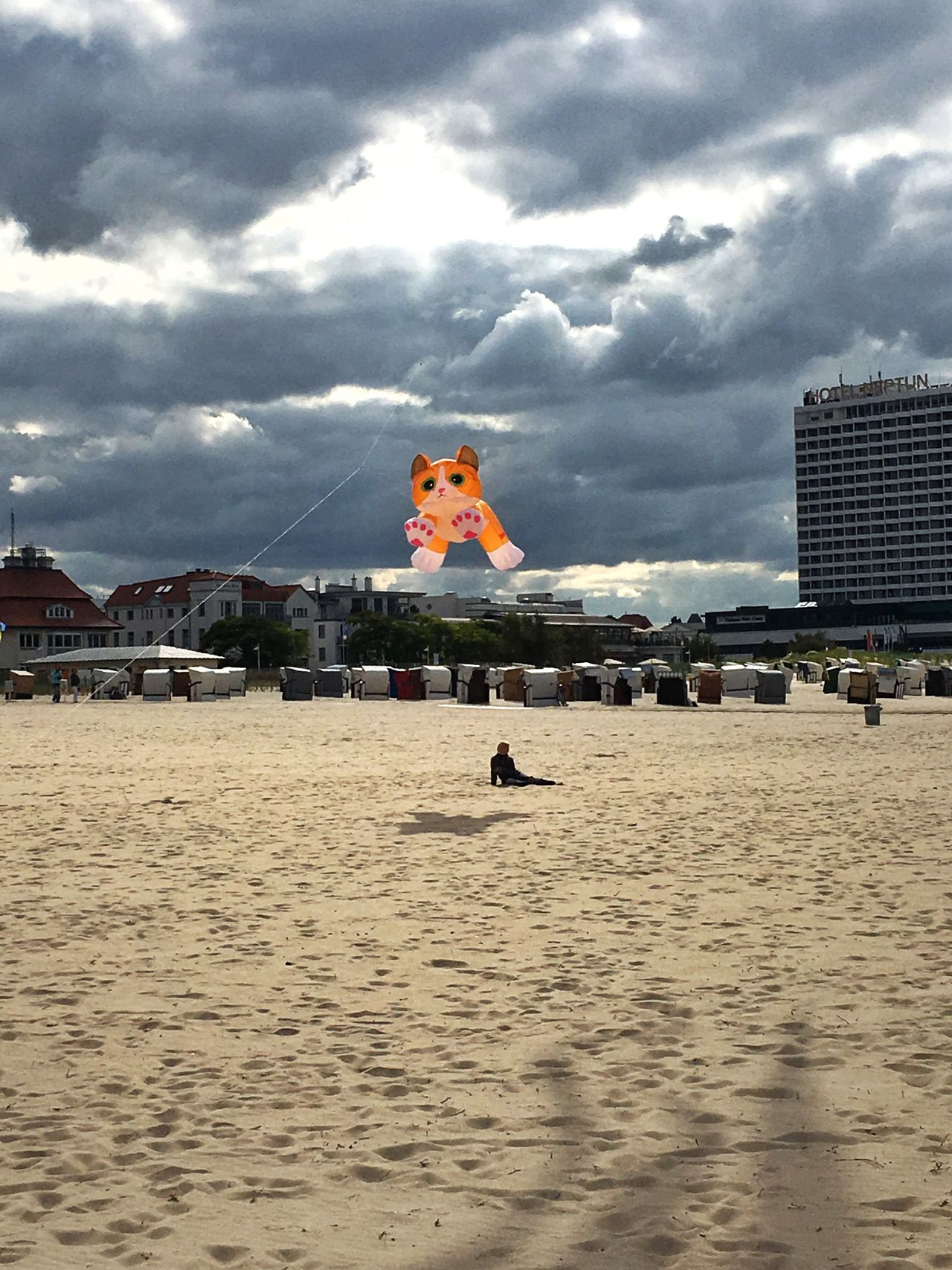 Kite Flying Animals Warnemünde Beach Autumn Cloud Clouds And Sky Building Exterior Built Structure Architecture Waterfront Vacations Sand Sky Travel Destinations Cloud - Sky Mid-air Tourism Flying Water Outdoors Day Tranquil Scene My Year My View My Favorite Place