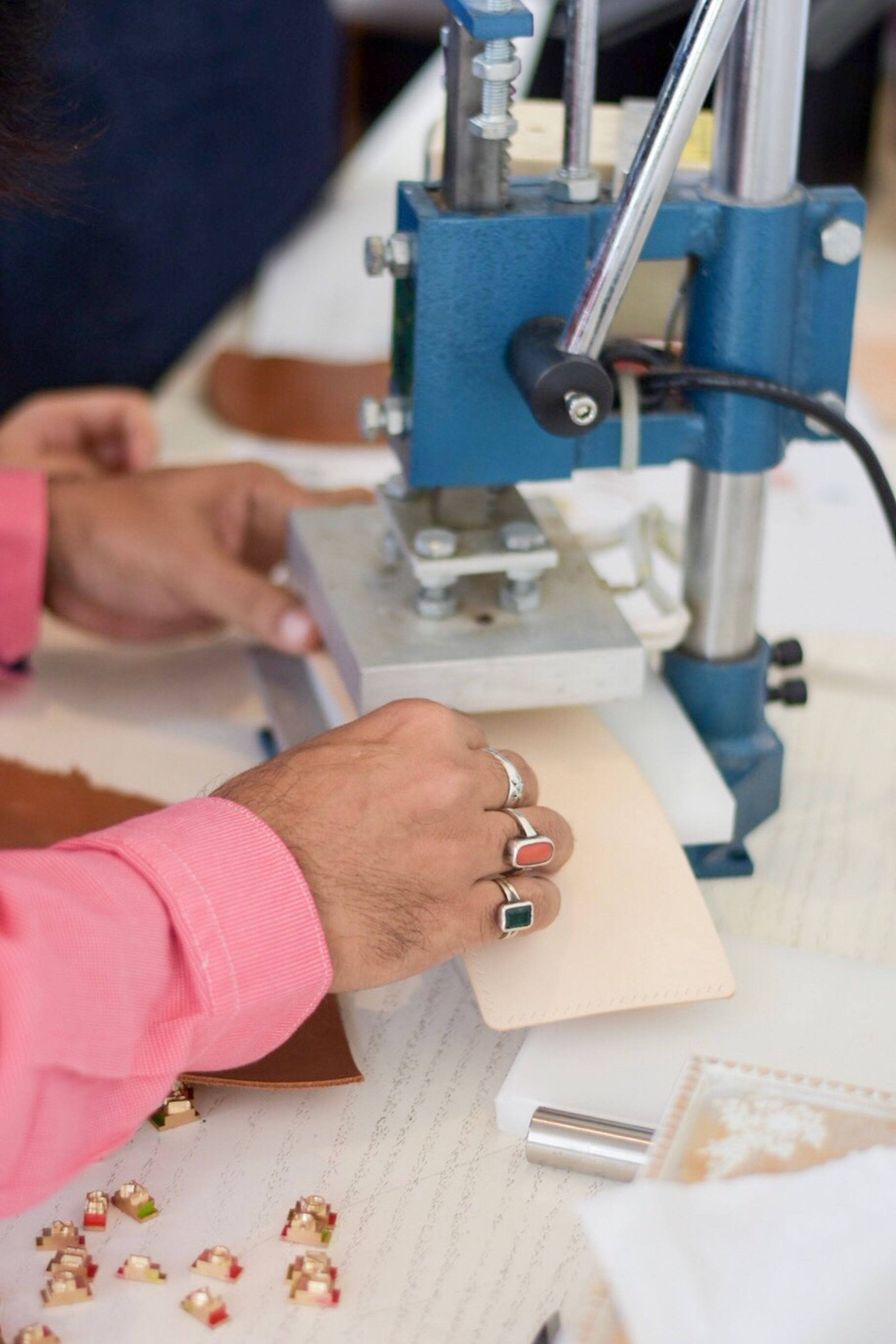 craft, occupation, accuracy, skill, working, craftsperson, business finance and industry, adults only, workshop, indoors, close-up, sewing machine, women, only women, industry, people, adult, human hand, human body part, one person, day