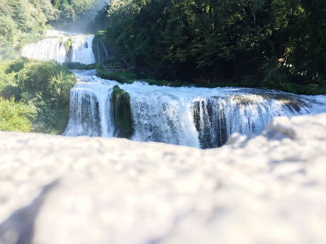 ShotoniPhone6s Water Flowing Waterfall Long Exposure Motion Stream Flowing Water Surface Level Scenics Nature Beauty In Nature Selective Focus Idyllic Purity Tranquil Scene River Tranquility Outdoors Day Rock