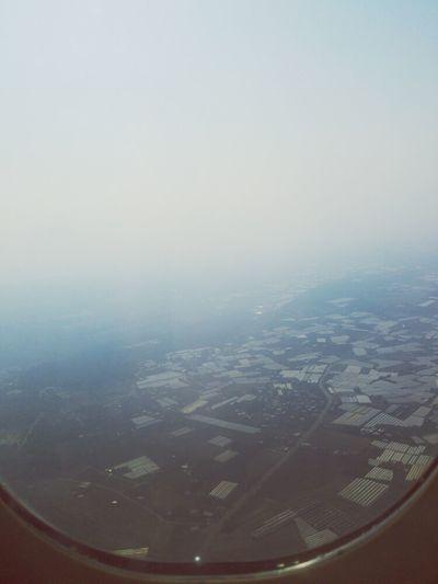 From An Airplane Window Sky