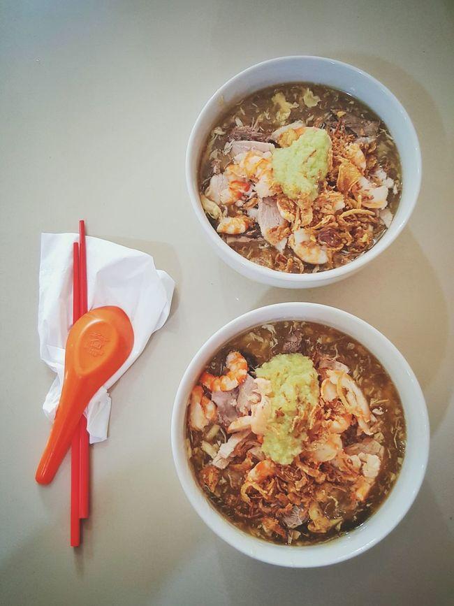 LOMIE Pork & Prawn. Nyummy. Food Foodism Foodporn Kuliner Kulinerbandung Kulinerpalembang INDONESIA Bestoftheday Instadaily Wongkitogalo Photooftheday Instagramhub Instamood