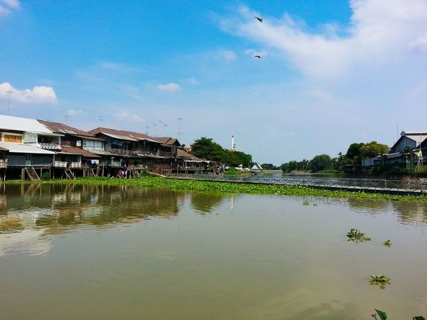 River Countryside River Thailand Nature Fresh Ancient Building Ancient Town Ancient Culture Sky
