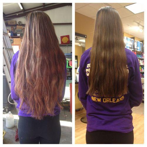 Bye Bye Long Hair