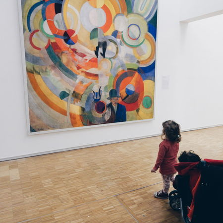 Art Gallery Art Museum Art Work Child Childhood Children Children Photography Colorful Design Exibition Flooring Full Length Gallery Indoors  Musee Pompidou Museum Paintings Pompidou Pompidoucentre Toddler  Visiting Museum Wall Wall - Building Feature ArtWork Children_collection