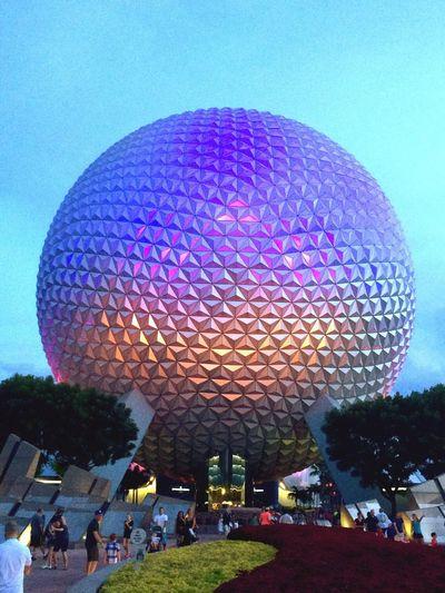 Disney World Epcot Sphere