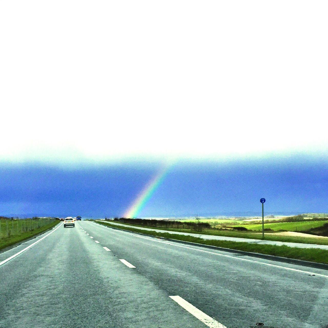 Urban Spring Fever Rainbow Rainbow🌈 Countryside