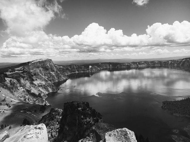 Crater Lake N.P. Water Cloud Sky Crater Lake National Park Oregon