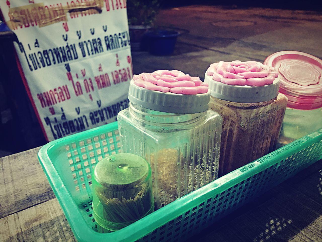 Thai garnish Jar No People Indoors  Close-up Freshness Day Food Stick Sugar Chilies Sale Shop
