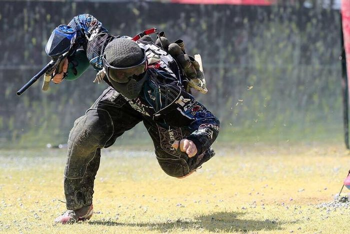 Me. Two years ago. On The Move My Favorite Place Paintball Ferocity Adventure Extreme Sports I wouldn't change a thing.