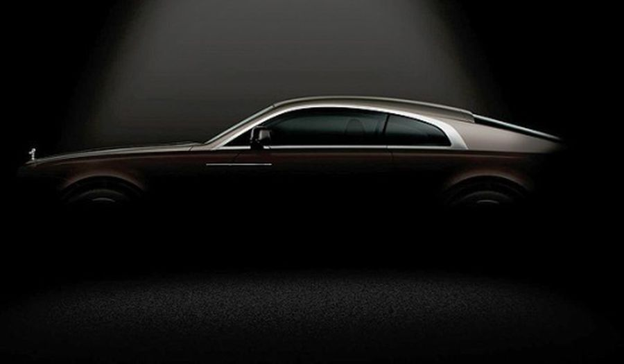 Rolls-Royce Has Provided Its First Glimpse Of The Wraith, A New Coupe Version Of The Ghost.  While The Wraith Will Be Officially Unveiled In March At Geneva Motor Show, Rolls-Royce Seems Intent On Milking The Publicity Surrounding The Vehicle, It Says Wil