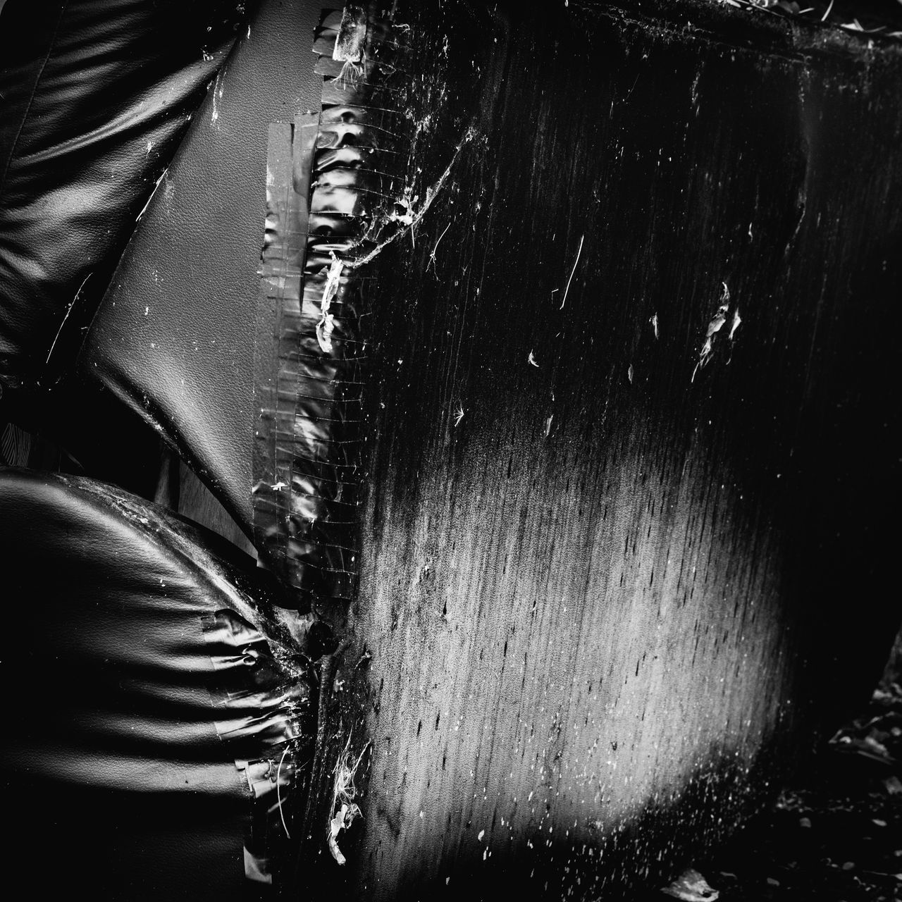 Abandoned Abstract Black & White Close-up Day Discarded Monochrome No People Outdoors Urban