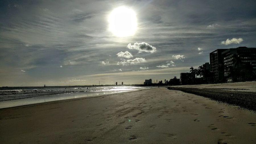 Beach Cloud - Sky Nature Beauty In Nature Vacations Horizon Over Water Sunlight Motog4 Sunglasses Maceió - AL