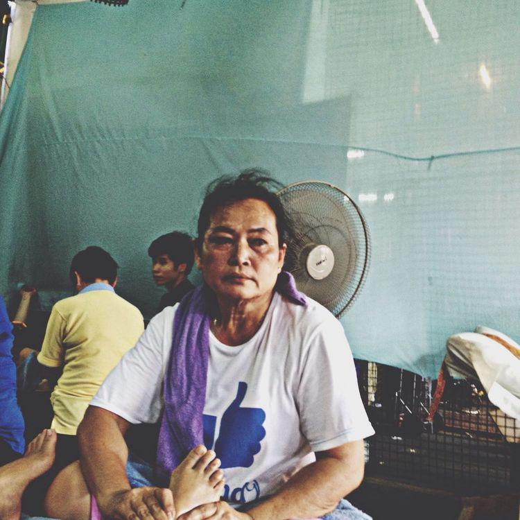 Getting A Massage Thailand Bangkok Vacation