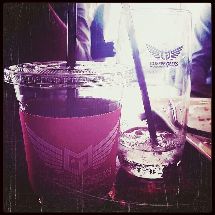 CoffeeGeeks Icedamericano ColdBrewedCoffee 커피긱스