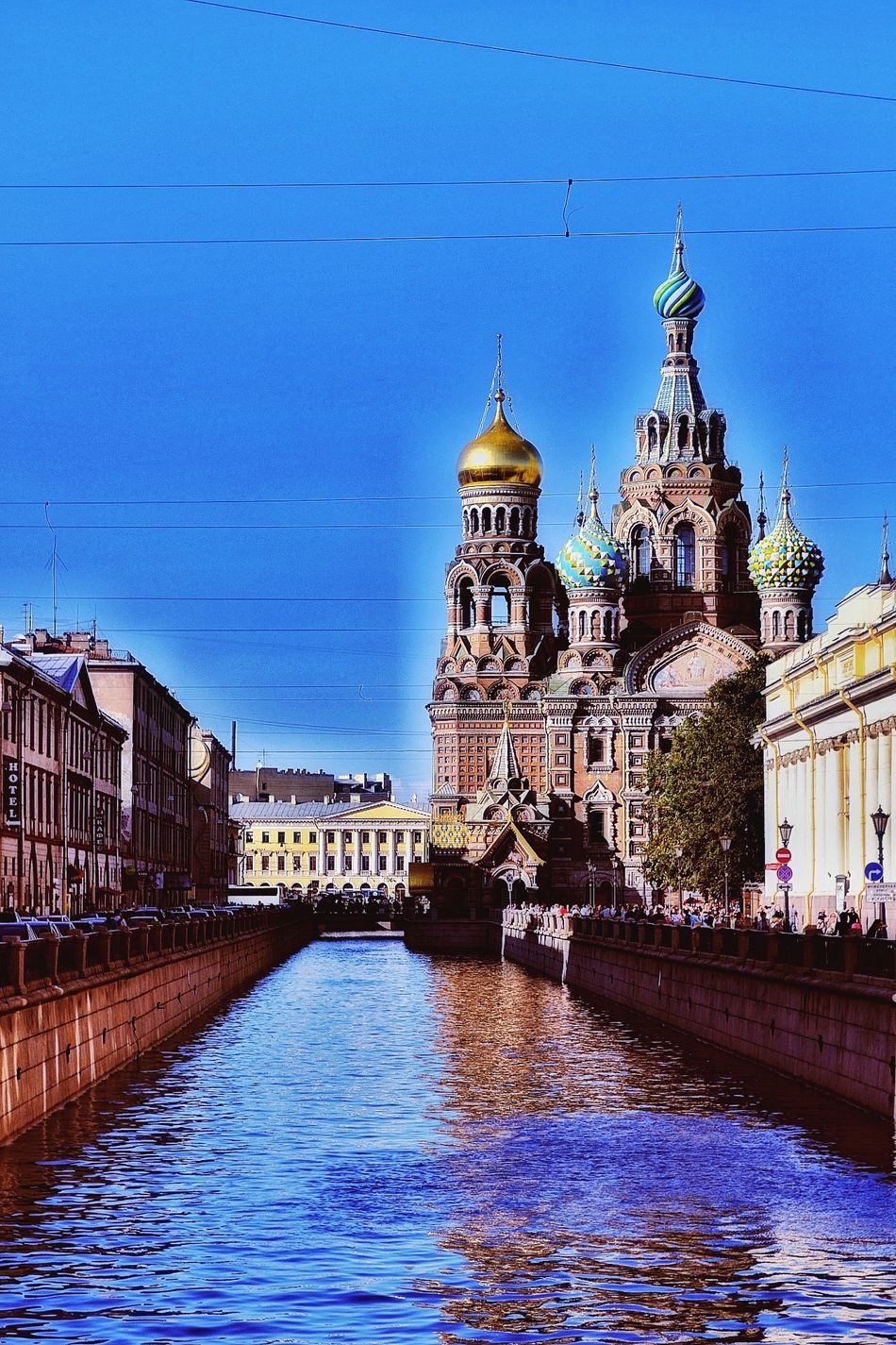 Photography Photo Photooftheday Day Daylight Blue Blue Sky Sky Water Water_collection Nevsky Prospect Neva Saint Petersburg Church Temple Dome Street Streetphotography Street Photography Streetphoto_color Russia Sight Summer Summertime