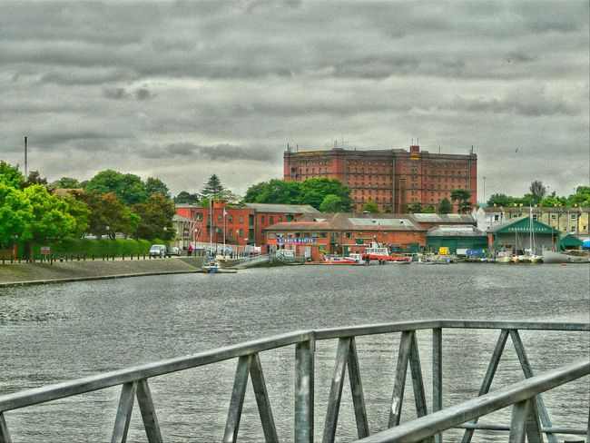 Vintage Edit  Bristol City Docks Water Boats Harbour Master Bonded Warehouse Clouds And Sky Check This Out