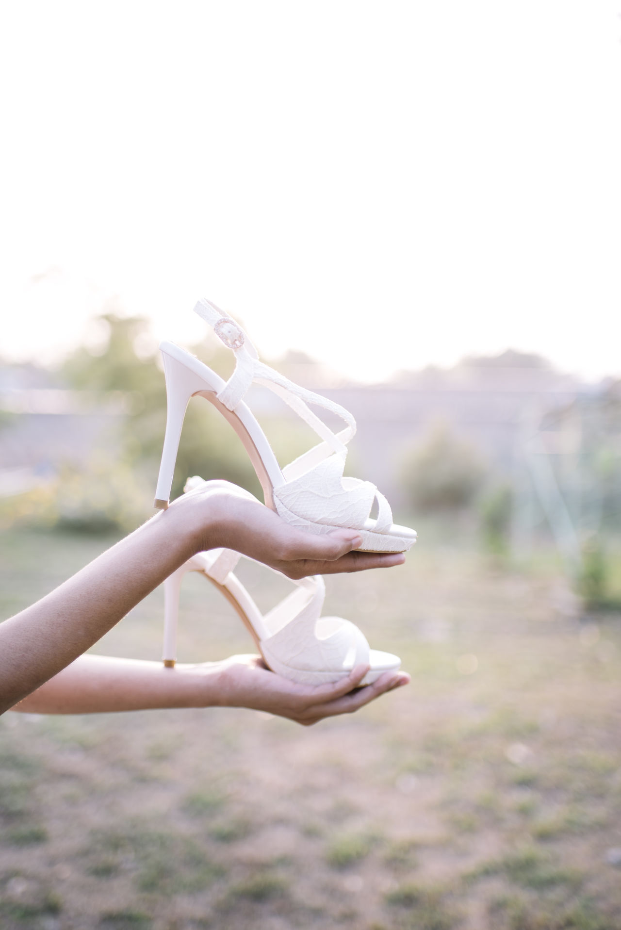 Bride Shoes Beauty In Nature Bride Shoes Close-up Day Detail Outdoors Shoes Wedding Shoes