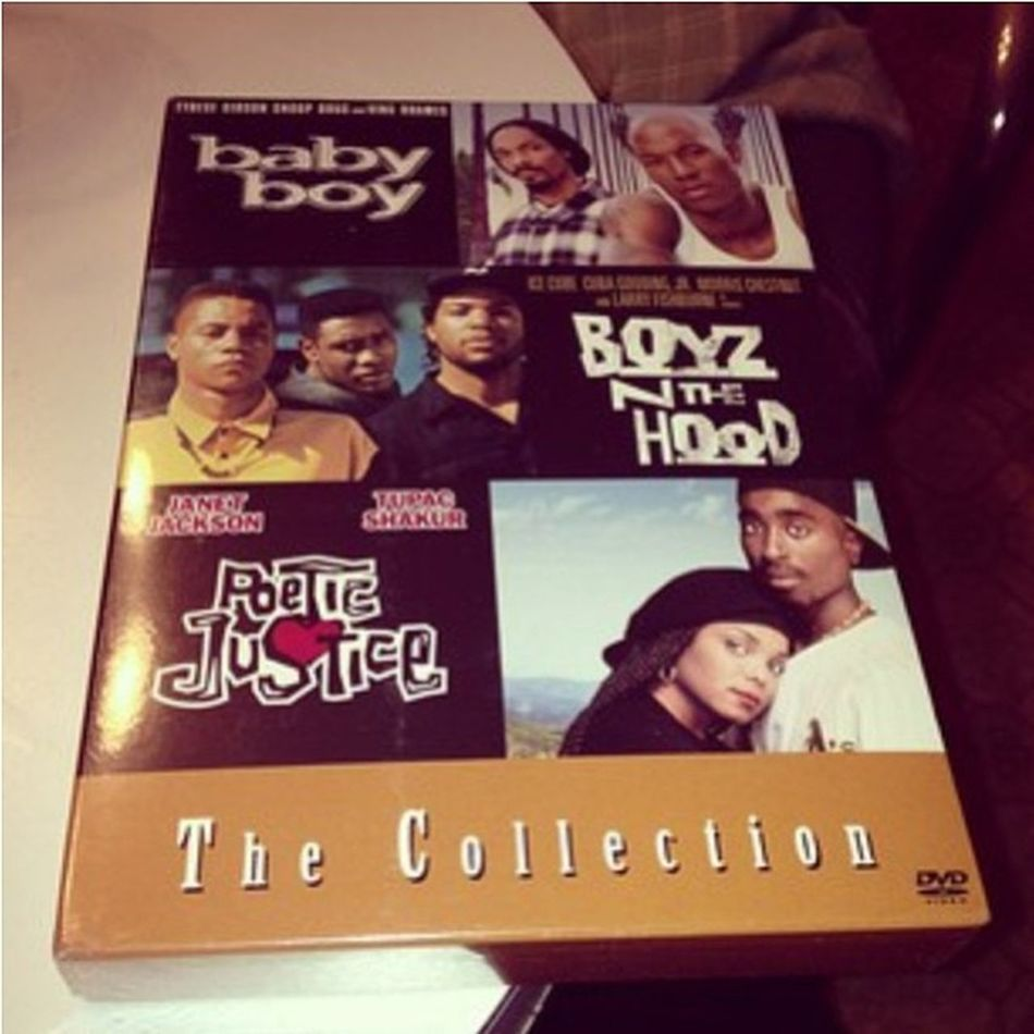 Repost from @claudiaswarzynski. I NEED this in my life and DVD collection!!! BoyzNTheHood Poeticjustice Babyboy JohnSingleton ThrowbackThursday TBT